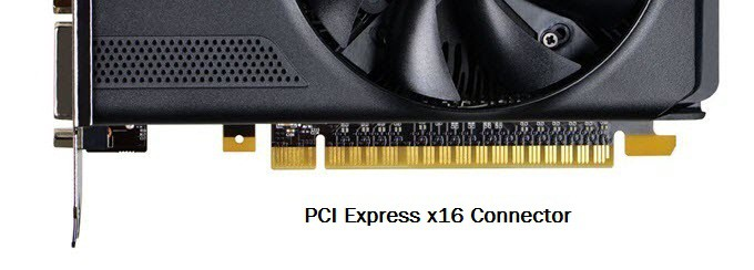 PCIe Express x16 Connector - GPU Connector