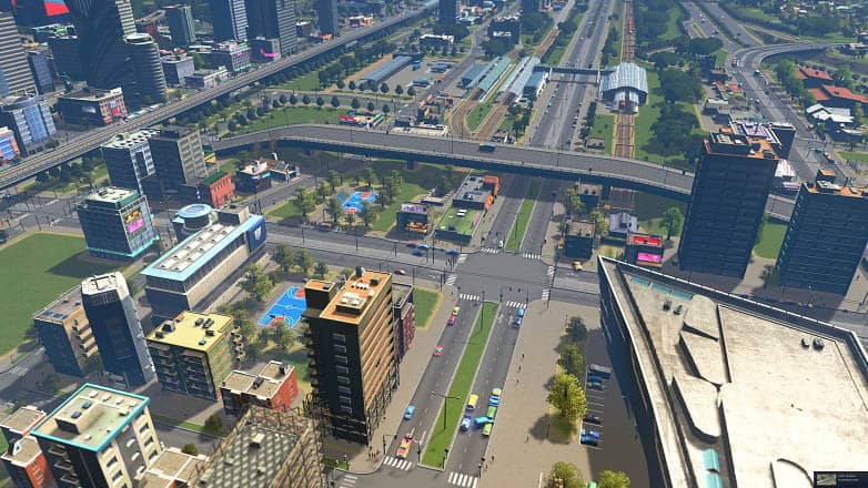 Stuttering in Cities: Skylines Game