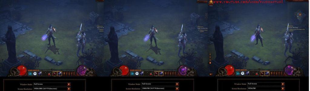 Screen Resolution Settings In Diablo 3 Game