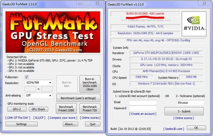 FurMark - GPU Benchmarking Software