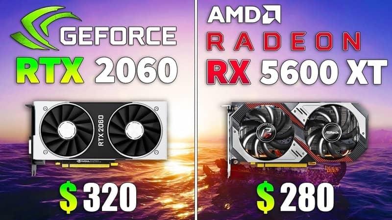 rtx2060 vs rx5600xt