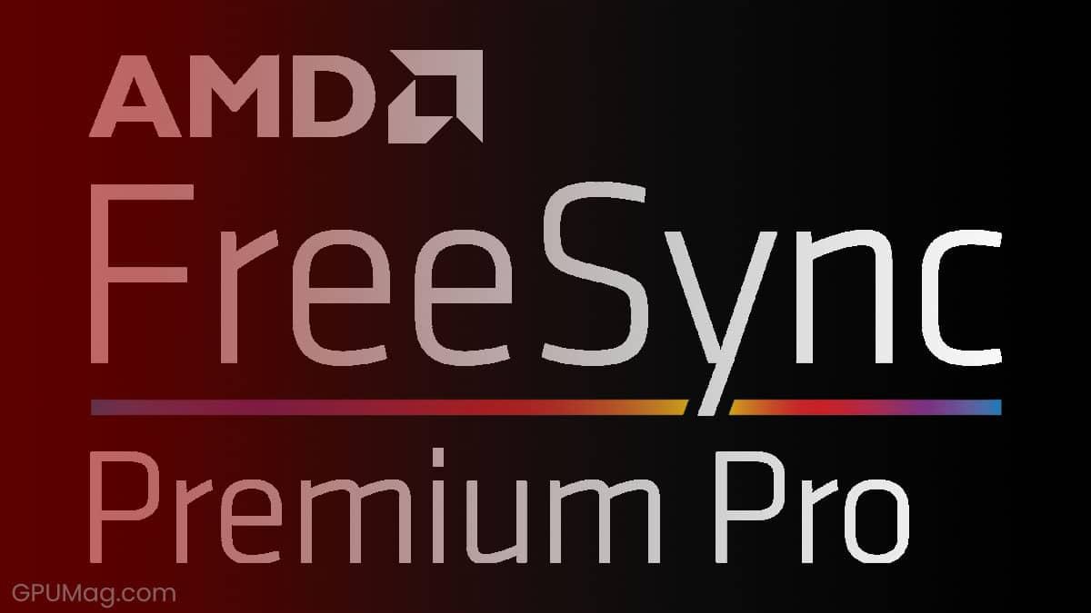 AMD FreeSync Premium Pro