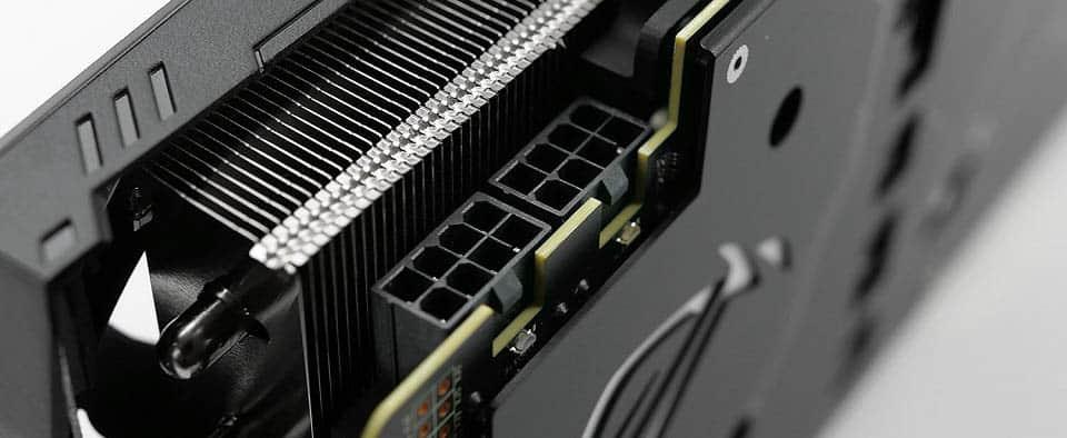 ASUS ROG Strix RTX 2080 Ti OC Two 8 pin connectors