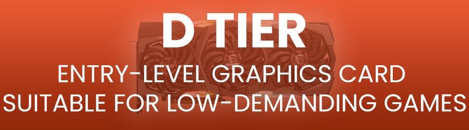 GPU Hierarchy Tier D