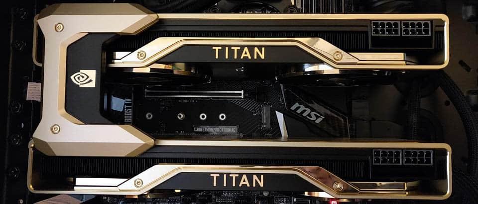 NVIDIA RTX Titan NVLink