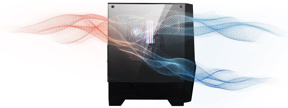 PC Case airflow