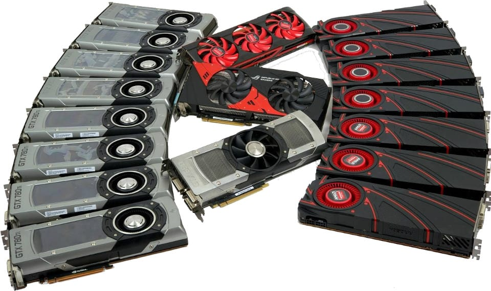 amd and nvidia graphics cards