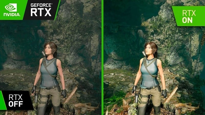 Shadow of the Tomb Raider RTX Off vs RTX On