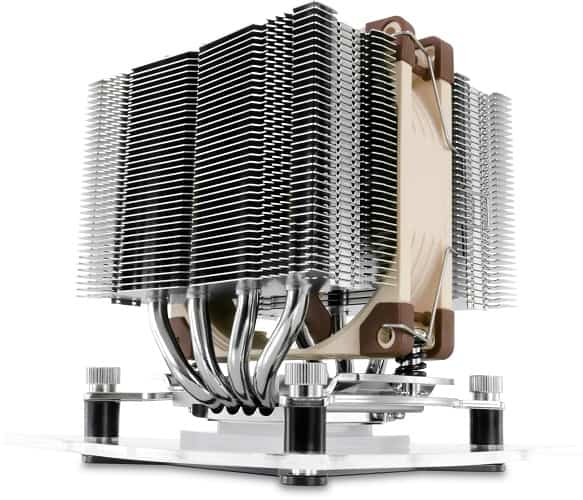 CPU Cooler with Dual Heatsink