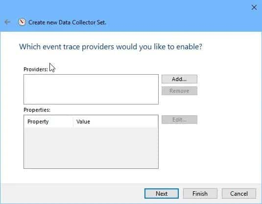 event trace providers
