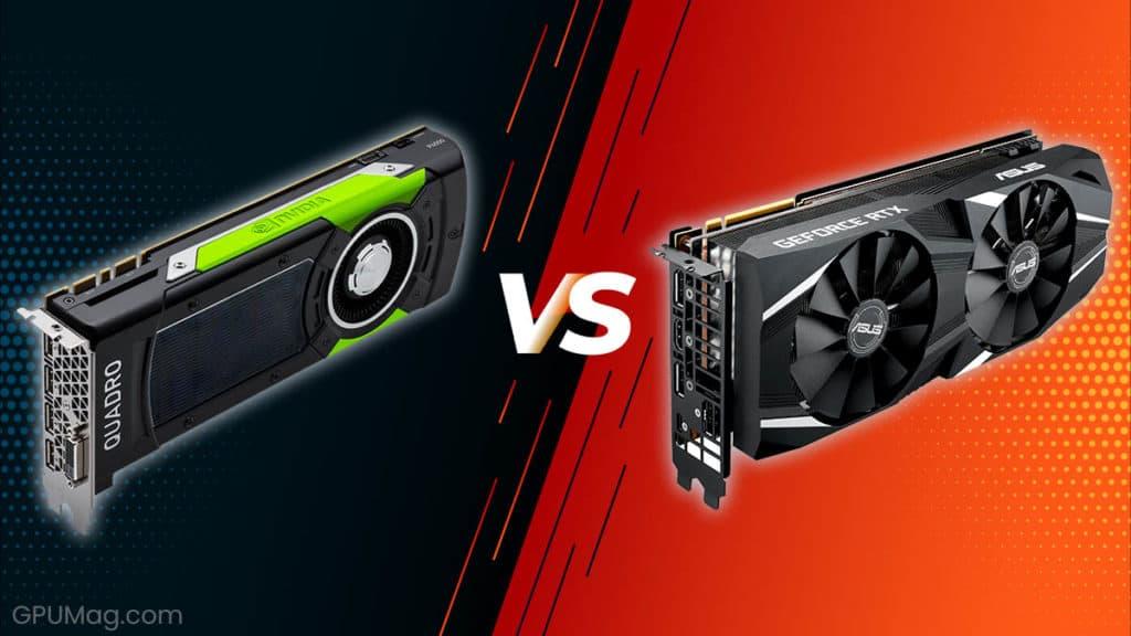 NVIDIA Quadro vs GeForce