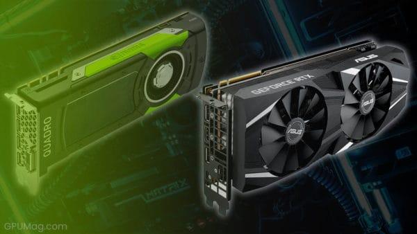 Quadro vs GeForce