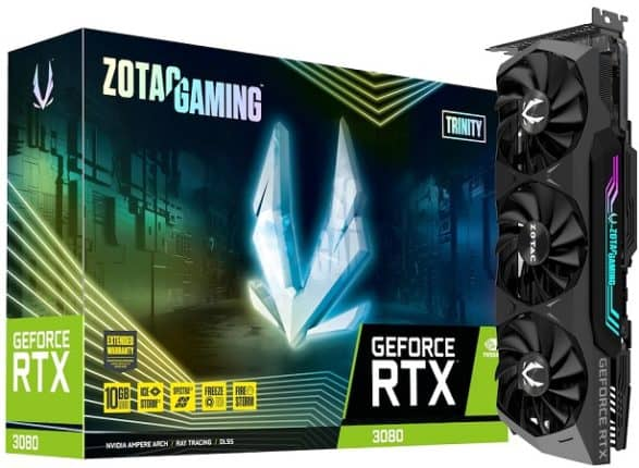 ZOTAC GeForce RTX 3080 Trinity