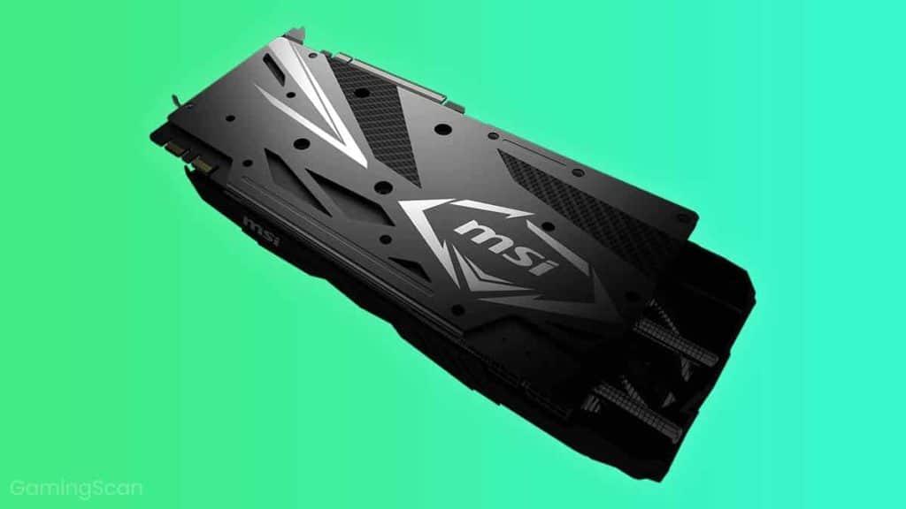 GPU Backplate