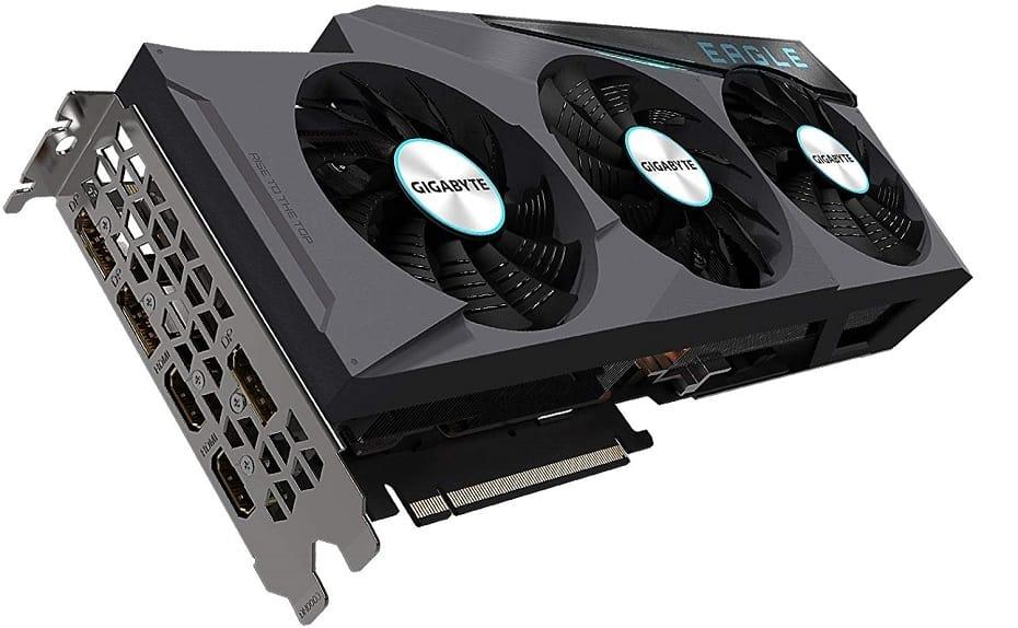 Gigabyte RTX 3080 Eagle OC Connectors