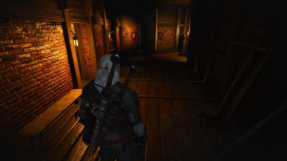 The Witcher 3 Ambient Occlusion HBAO+