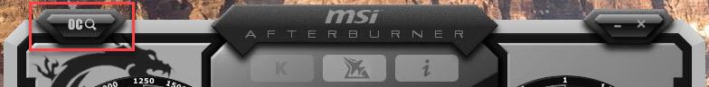 MSI Afterburner Screenshot OC Scanner