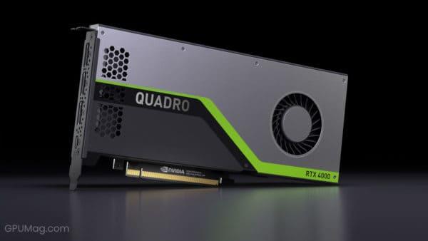 Nvidia RTX 4000 Series Quadro RTX 4000