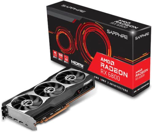 AMD RX 6800 Reference Card