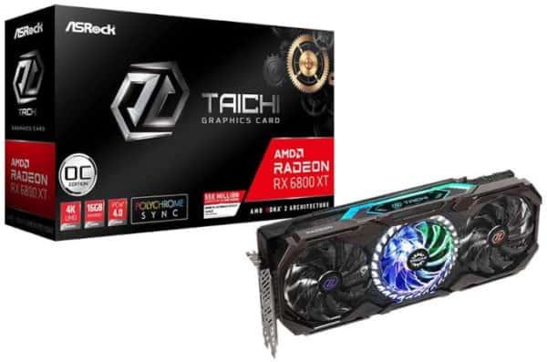 ASRock Radeon RX 6800 XT Taichi X