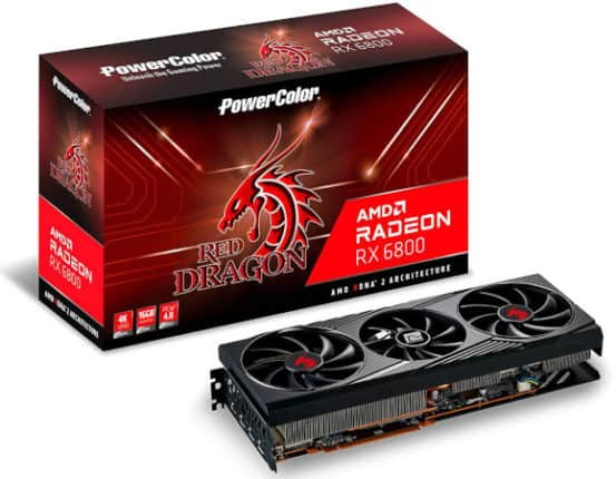 PowerColor RX 6800 Red Dragon