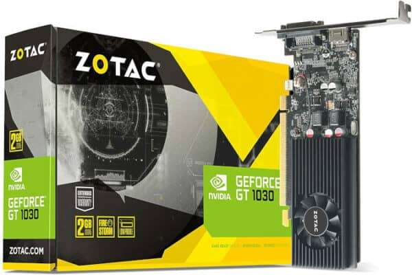ZOTAC GeForce GT 1030 Low Profile