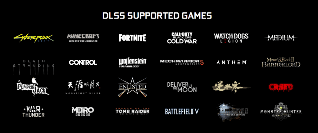 DLSS supported games